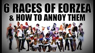 6 Races of FFXIV & How to Annoy Them [FFXIV Funny]