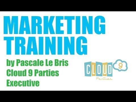 Cloud 9 Parties Dream Team Training - General Marketing
