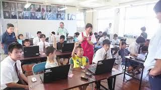 2017年10月3日石垣市立吉原小学校でプログラミング出前教室開講