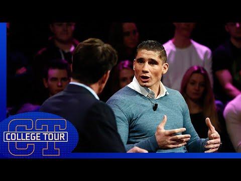 Rico over criminelen op kickboksgala's   College Tour
