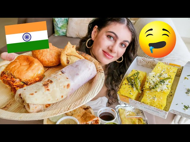 Indian Street Food at Home? Foreigner in India vlog | TRAVEL VLOG IV