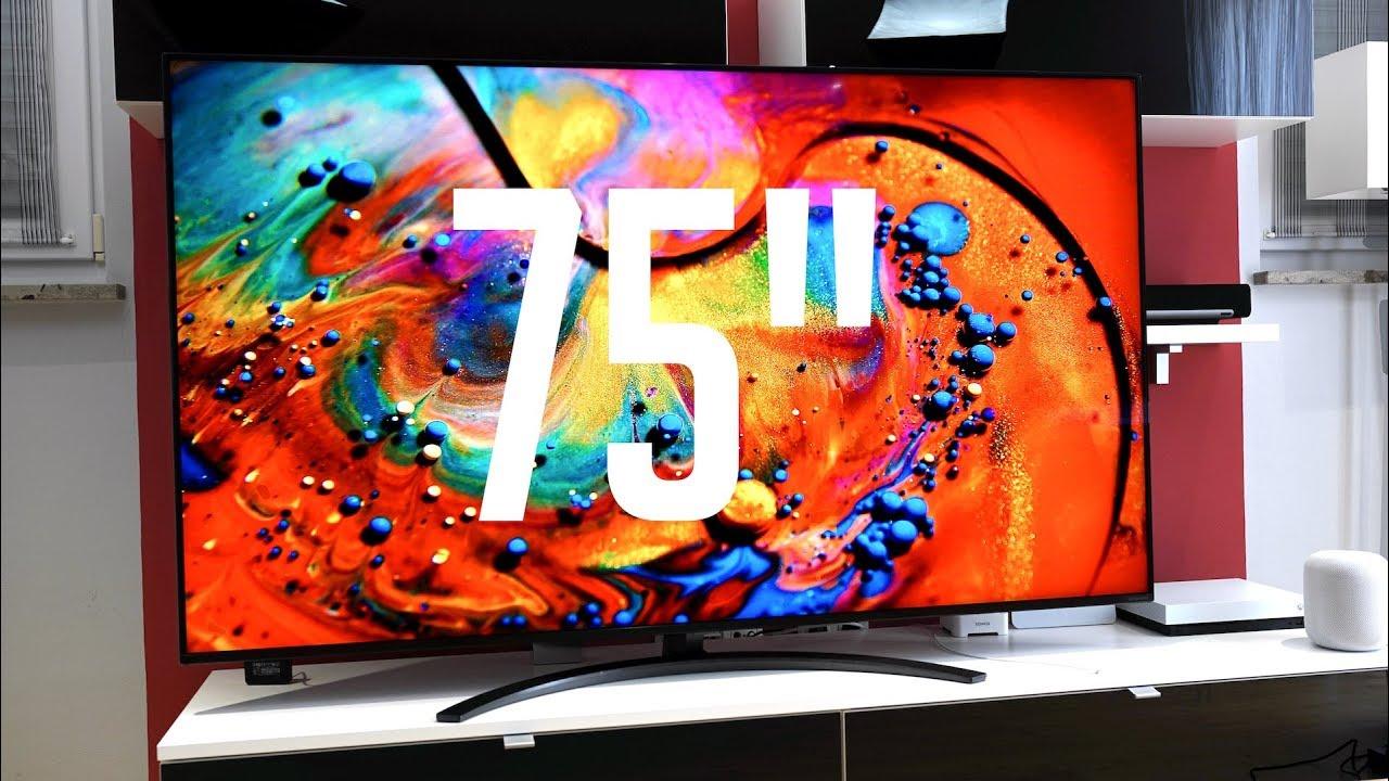 Der Beste 75 Led Tv 2019 Lg Nanocell 4k Tv 75sm9000