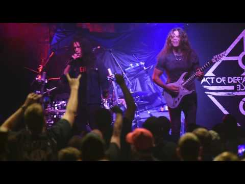 "Act Of Defiance covering Metallica's ""Seek & Destroy"" live Sept. 29, 2016"