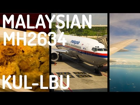 Malaysia Airlines MH2634 : Flying from Kuala Lumpur to Labuan