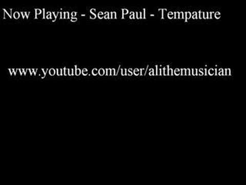 Sean Paul - Tempature