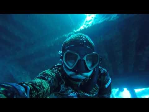 Freediving Campeche Mexico, Yamil Abud, Spearfishing, Apnea