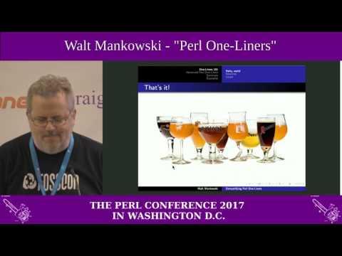 "Walt Mankowski - ""Perl One-Liners"""