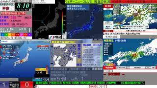 【緊急地震速報】2018年6月18日07:58ごろ発生 大阪府北部 最大震度6弱 thumbnail