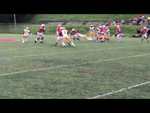 Pearson run Annapolis Area Christian/Concordia Prep football 09/13/18