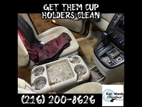 Get Them Cup Holders Clean (216) 200-8626