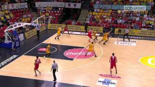 EuroMillions Basketball League - Les highlights : Ostende - Spirou (74-56) (28.05.2017)