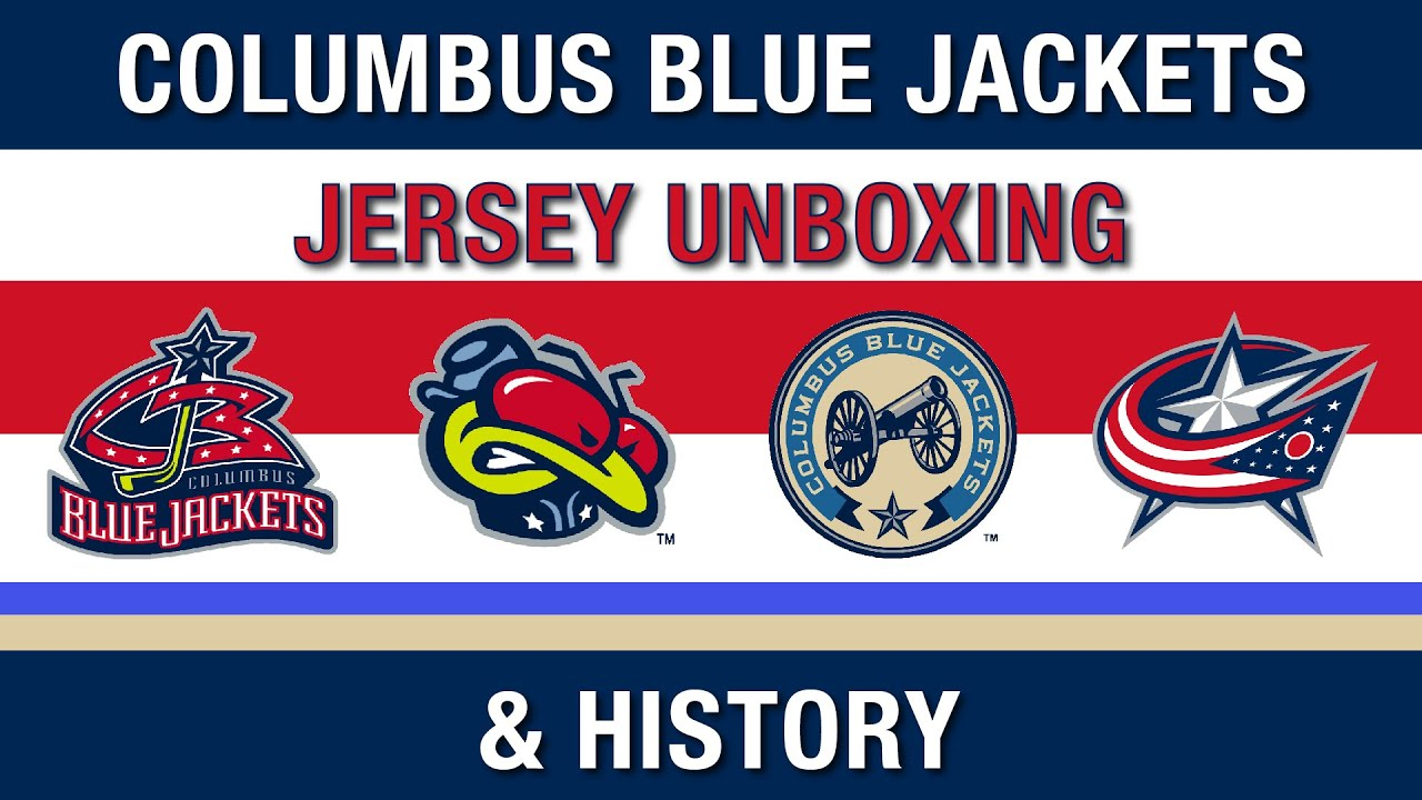 blue jackets jersey history