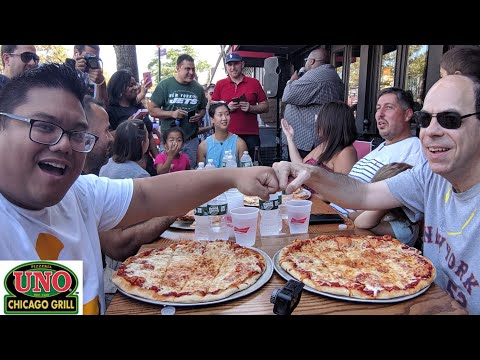Uno's Pizzeria Eating Contest