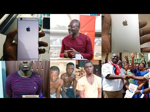 Breaking News: Mfantseman MP's Mobile Phone Found On the Suspect at Kumasi