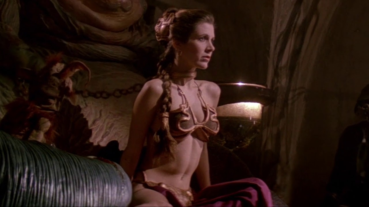 Nude photos carrie fisher