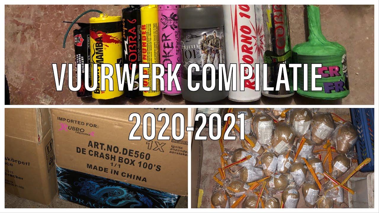 VUURWERK COMPILATIE 2020-2021
