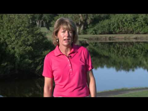 Dawn Mercer golf practice lesson