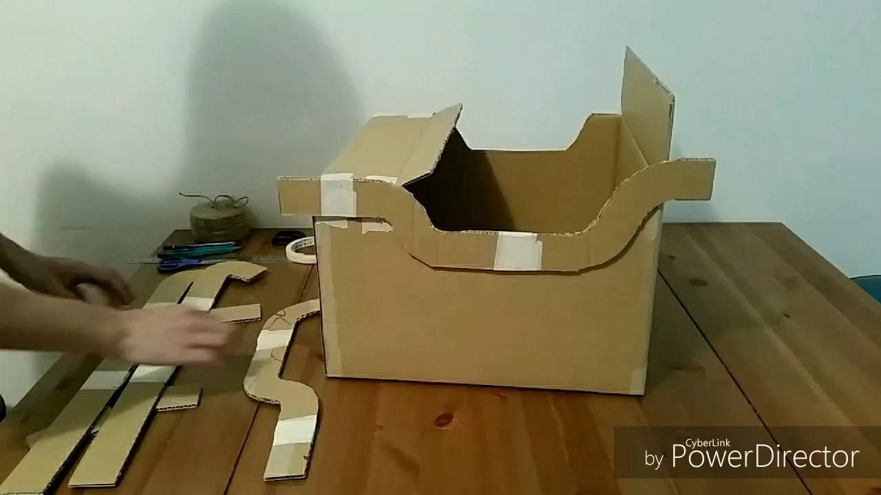 How to make a cardboard sleigh osc mini sleigh childrens race how to make a cardboard sleigh osc mini sleigh childrens race operation santa claus solutioingenieria Choice Image