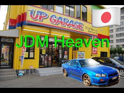 Inside UpGarage Car Shop in Japan 2017!