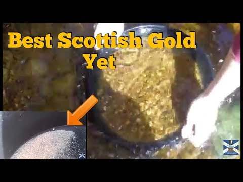 Gold Panning Scotland Baile An Or New Rules