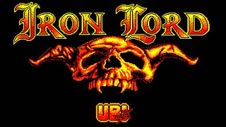 [Amstrad CPC] Iron Lord - Longplay