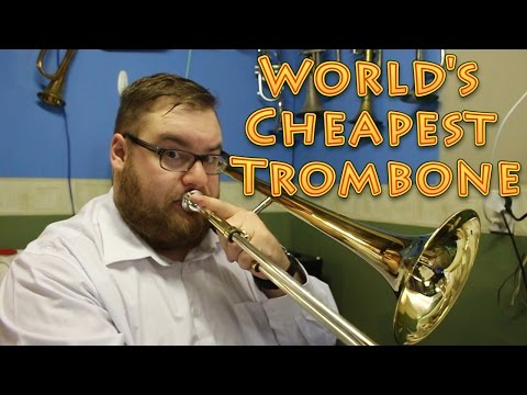 The World's Cheapest Trombone - A Soul Destroying Mess.