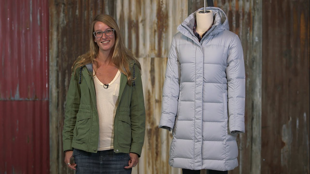 Patagonia Women's Down With It Parka - YouTube