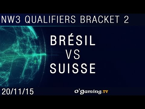 Brésil vs Suisse - NationWars III - Qualifiers Bracket 2 - Match 2
