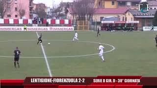 Serie D Girone D Lentigione-Fiorenzuola 2-2