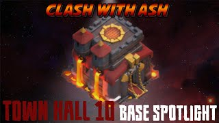 Clash Of Clans | TH10 Base Design Spotlight (Anti 3 Star and Trophy)