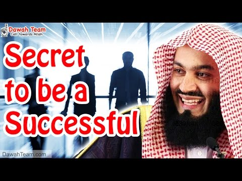 Secret to be a Successful ᴴᴰ ┇Mufti Ismail Menk┇ Dawah Team