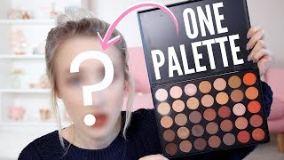 Full Face Using Only ONE PALETTE | Sophie Louise