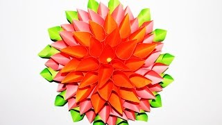 How to make a Beautiful Flower out of Paper | Easy step by step tutorial