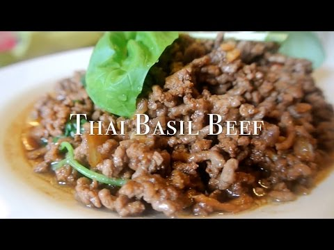 How to cook Thai Basil Beef (easy home recipe)