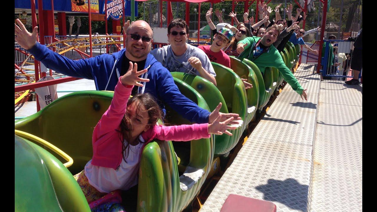 Roller Coaster Wacky Worm Adventure Landing