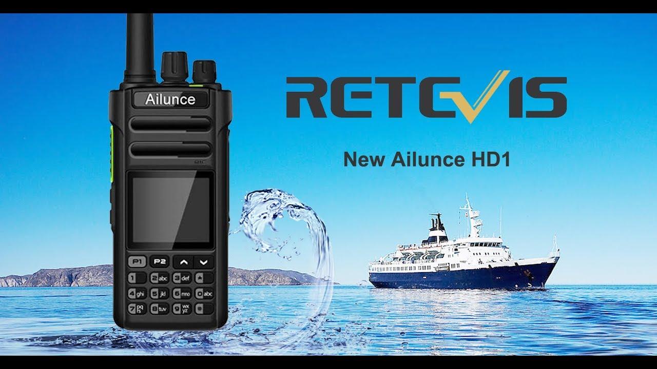 Retevis Ailunce HD1 DMR Handheld First Look Mp3 indir