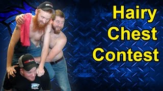 Hairy Chest Competition at Thoroughbred Diesel Judgement Day