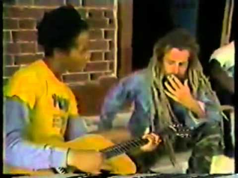 ziggy marley redemption song in front of bob tomb youtube