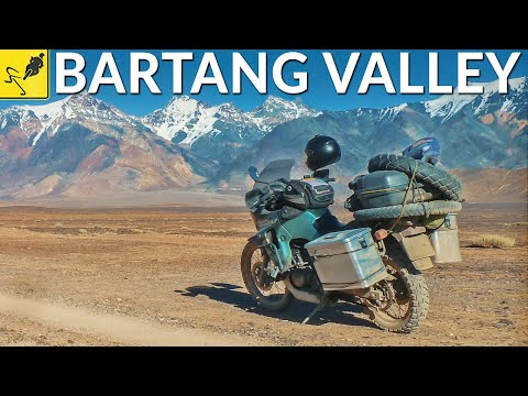 MOTORCYCLE TRIP Around the WORLD, Tajikistan - Pamir Highway & Bartang Valley