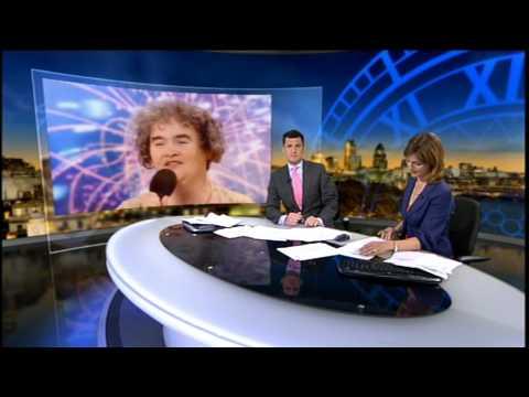 SUSAN BOYLE ☆LATEST NEWS☆ 22/05/2009  Britain's Got talent