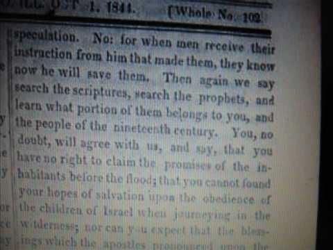1844 Right of Mormon Succession  News Smith Rigdon