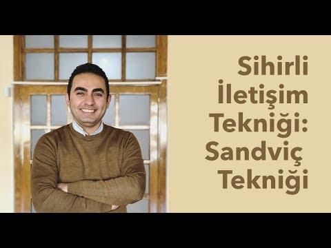 Sihirli İletişim Tekniği: Sandviç Tekniği