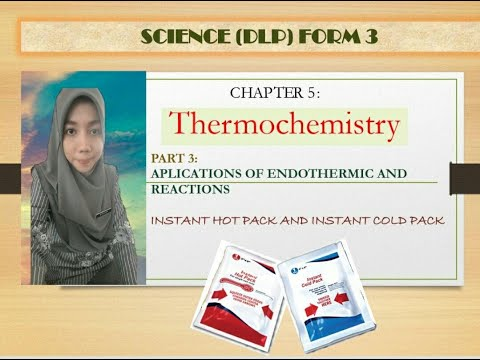 Instant Hot Pack And Instant Cold Pack, Application Of Exothermic And Endothermic Reactions.