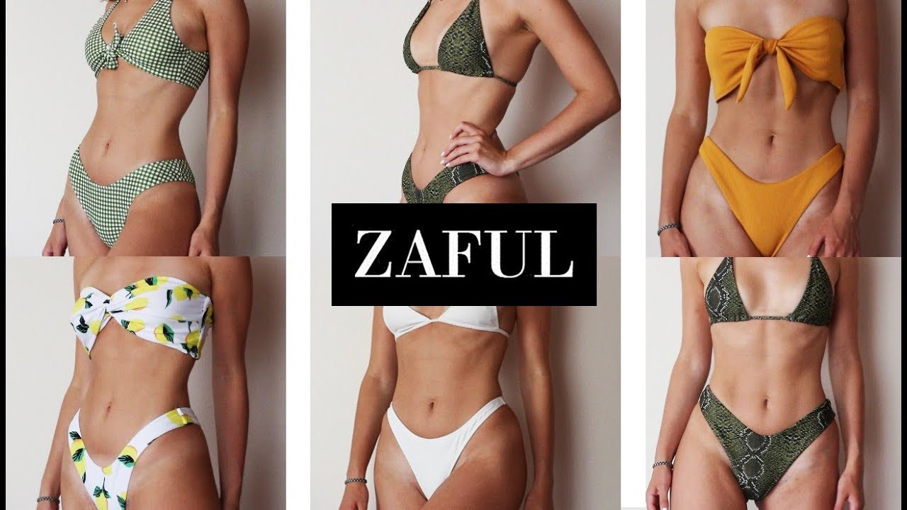 19dce71e478 ZAFUL BIKINIS TRY-ON HAUL