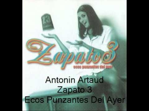 Antonin Artaud - Zapato 3