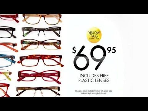 0211d7ed2a6 TV Commercial Spot - VisionWorks Fashion Frames Yellow Tag Sale - Your Best  Face - Find a Better You