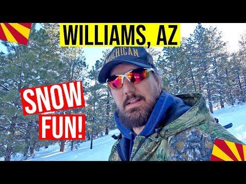 Williams, Arizona Snow | Moving to / Living in Arizona (Williams, AZ)