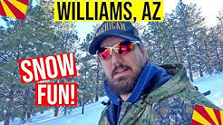 Williams, Arizona Snow | Living in Arizona (Williams, AZ)