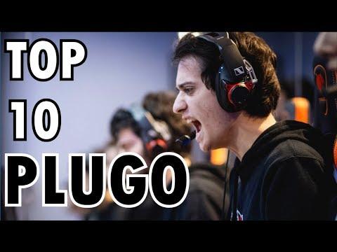 EL MEJOR MID DE LAS | TOP 10 PLUGO | league of legends thumbnail