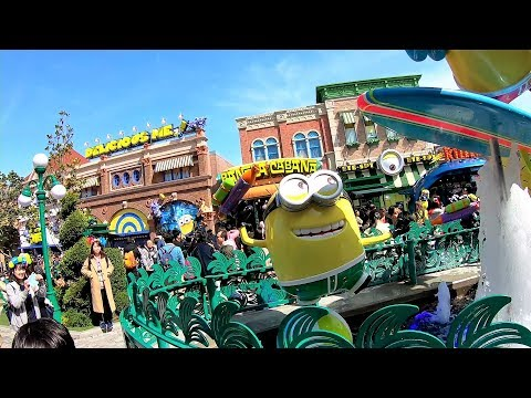 Universal Studios Japan One Lap(around the USJ) Share the Joy with you;)